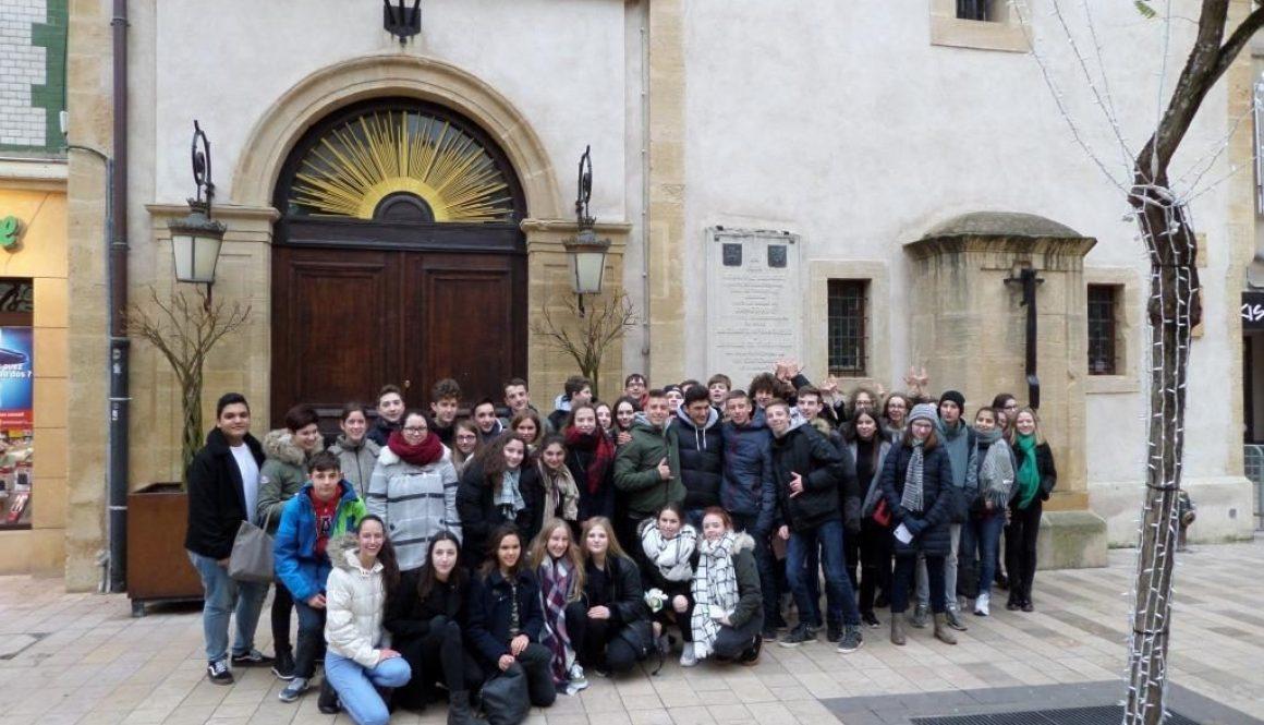 Schüleraustausch mit der Cité Scolaire Charlemagne in Thionville