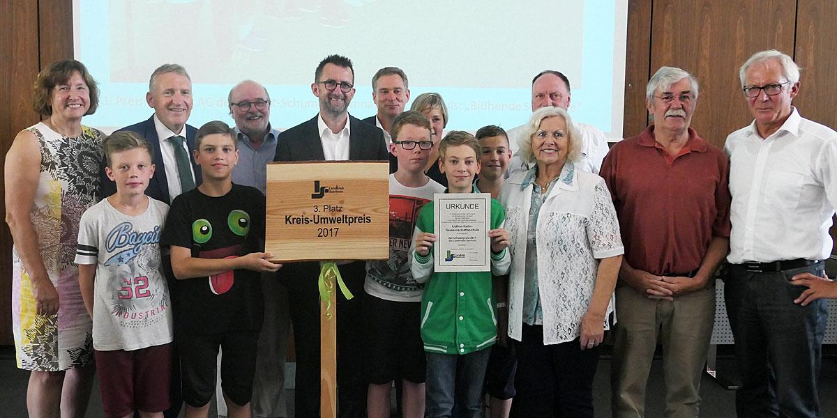 3. Platz Kreis-Umweltpreis 2017