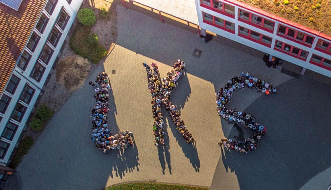 Lothar-Kahn-Schule Luftaufnahme LKS