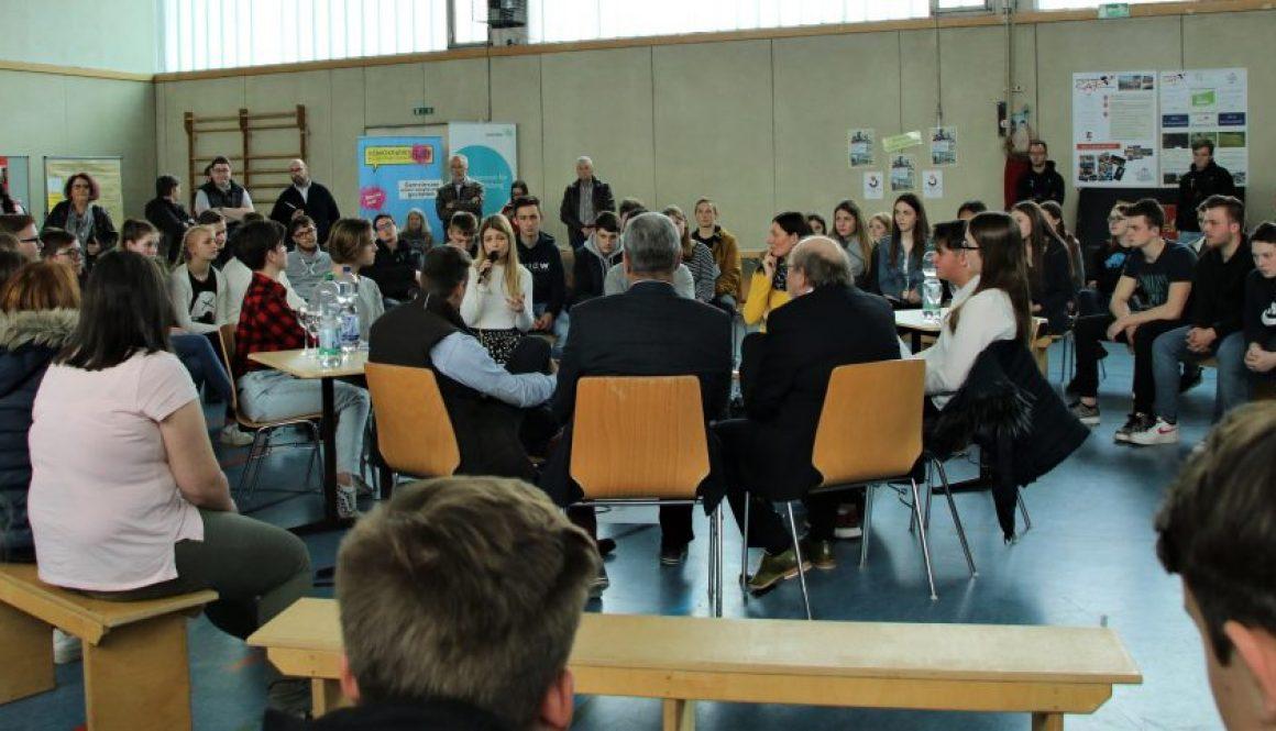 Demokatie Ei Jo an der Lothar Kahn Schule ein großer Erfolg
