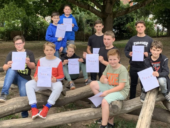 LKS-Schulsieger im Biologo-Wettbewerb