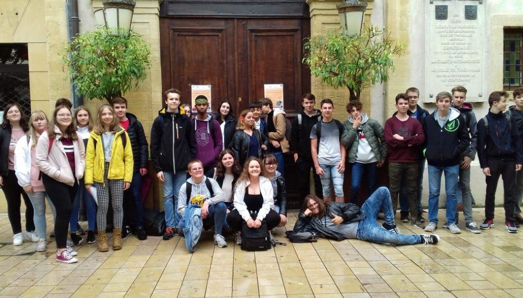 Austausch mit der Cité Scolaire Charlemagne in Thionville