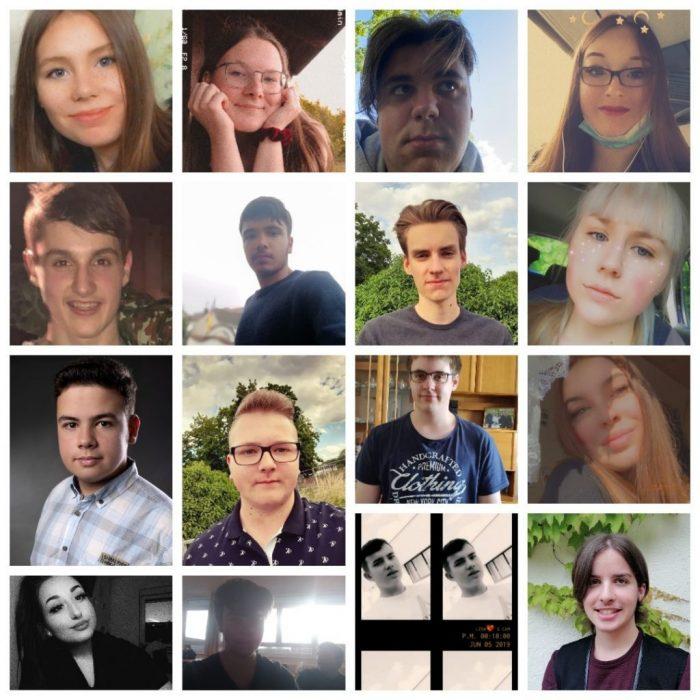 Abschlussschüler 10a