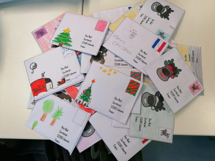 Weihnachtsbriefe 5a und 7b